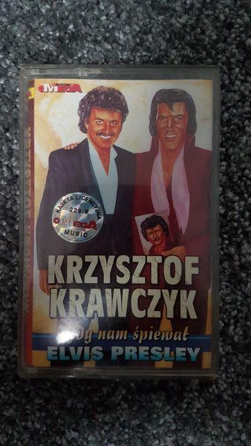 Krzysztof Krawczyk - gdy nam śpiewał Elvis Presley - kaseta magnetofon