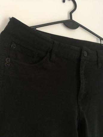 Wyprzedaż spodnie 36/38 czarne klasyczne super stan
