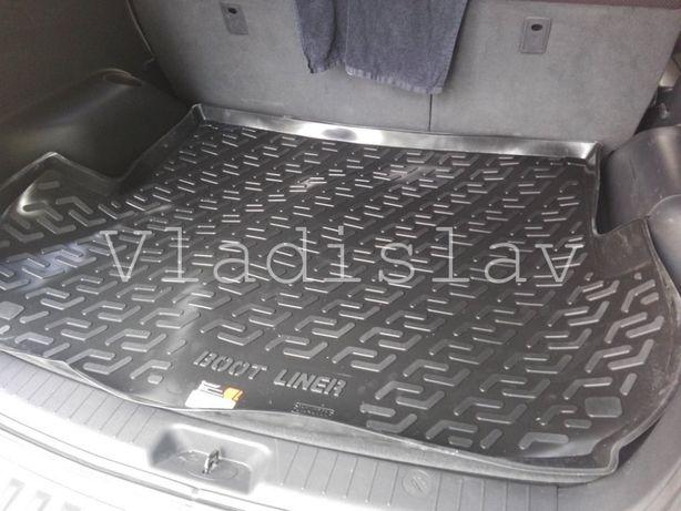 Ковер в багажник Hyundai Santa Fe 2006-2012;12-2018 коврик в санта фе