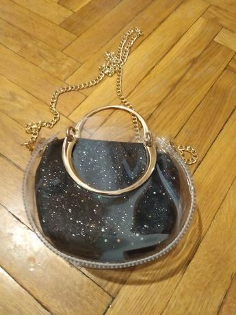 Очень красивая маленькая двойная сумочка