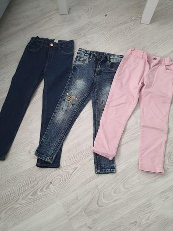 Spodnie dzinsowe 122