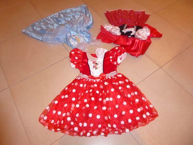 Vestidos de Carnaval (CAPUCHINHO; MINI ; CINDERELA) dos 2 aos 5 anos