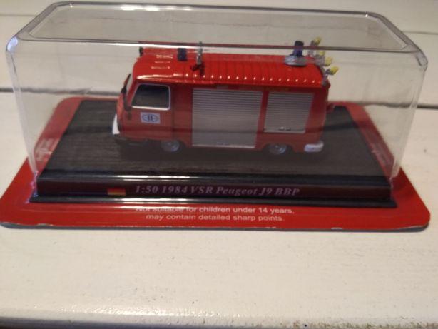 Peugeot J9 BBP straż pożarna 1:50