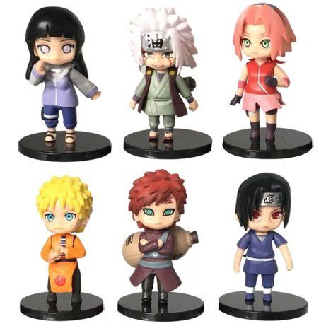 6 pcs Naruto (Portes incluidos)