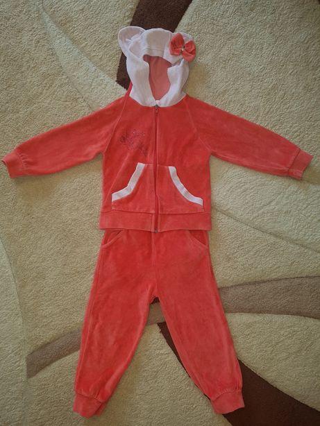 Вельветовый костюм, размер 98