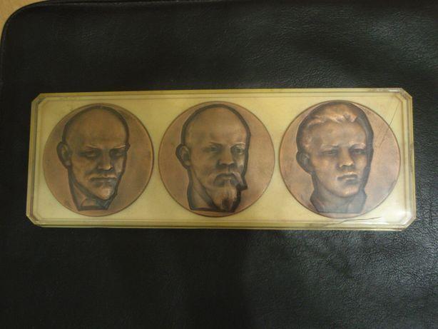 Ленин набор настольных медалей