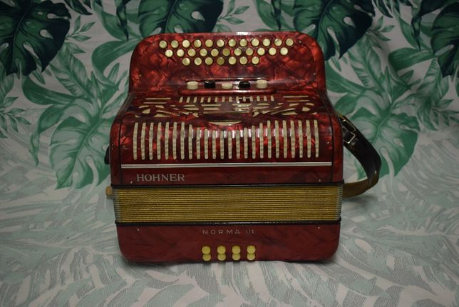 Concertina Hohner Norma III, 3 Voz