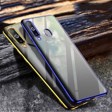 Etui modne kolor + Szkło hartowane 9h Samsung Galaxy A20e A70 kom-gsm