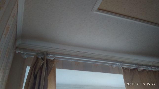 Карниз двойной для штор 2,55 м длиной