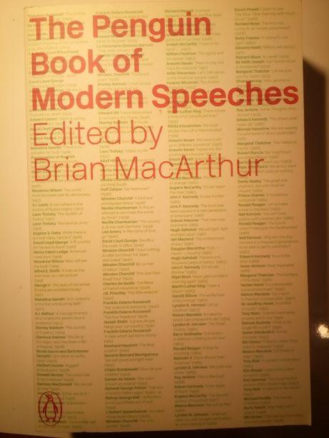 The penguin books of modern of speeches