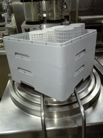 Cesto plástico p/ máquina de lavar louça 450x450 mm (novos)