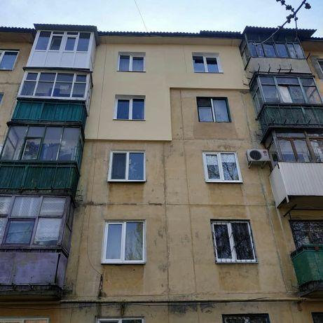 Наружное утепление стен квартиры. Ремонт межпанельных швов