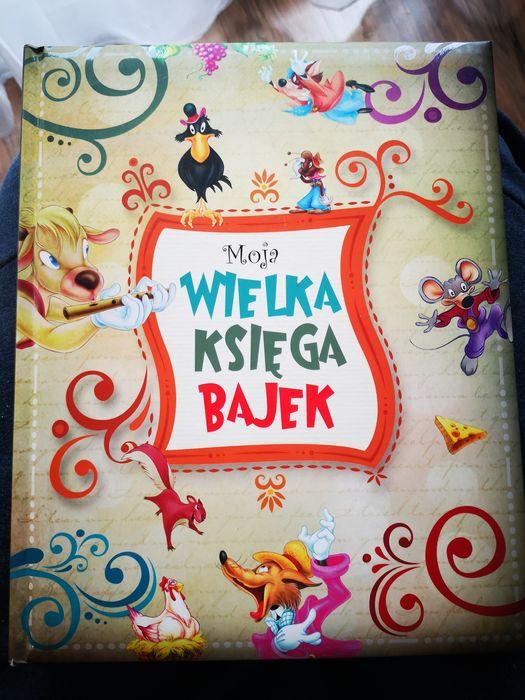 Moja Wielka księga bajek książka dla dzieci bajki Olesiejuk Kraków - image 1