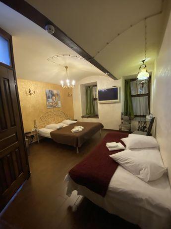 Подобово готель у центрі міста Львова, з запашними сніданками.