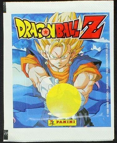 Saqueta Carteirinha cromos Panini Dragon Ball Z Serie 2 (2000) - Vazia