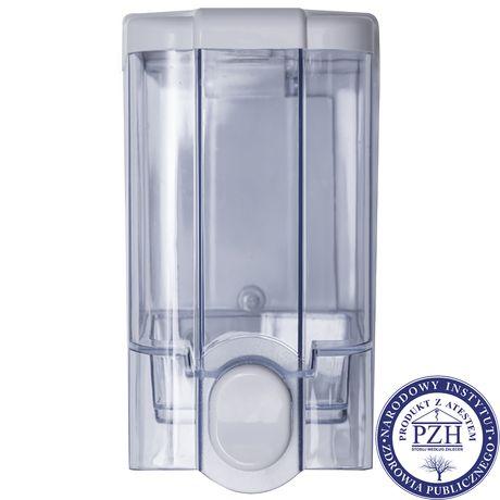 Dozownik do mydła w płynie Faneco JET 1 litr plastik przezroczysty