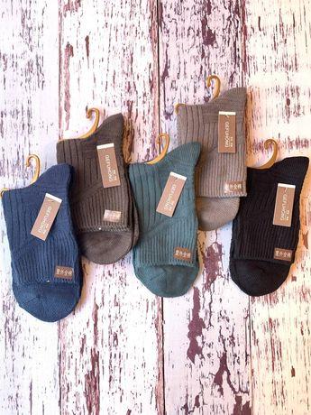 Мужские носки тонкая шерсть