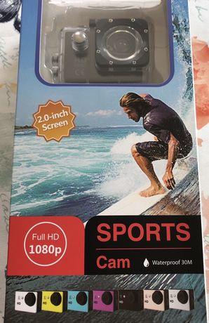 Kamerka sportowa Full HD 1080p wodoodporna