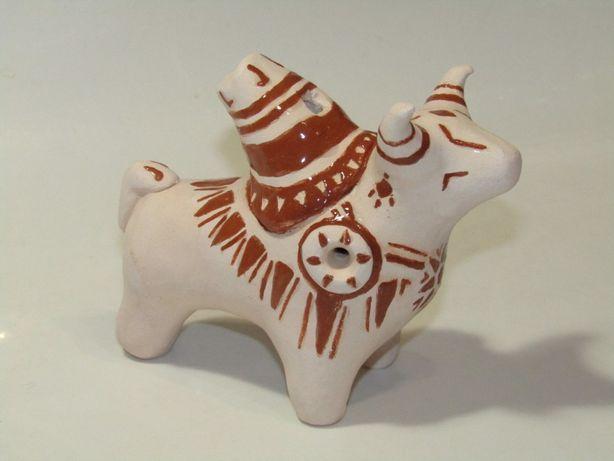 Глиняний бичок (свищик)