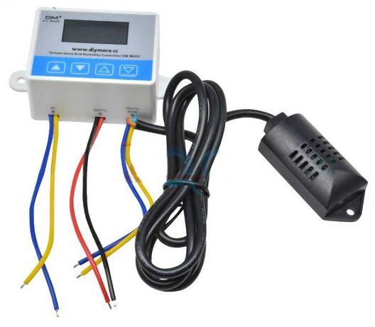 Регулятор температуры и влажности DM-M452,термостатSHT20, питание 12В