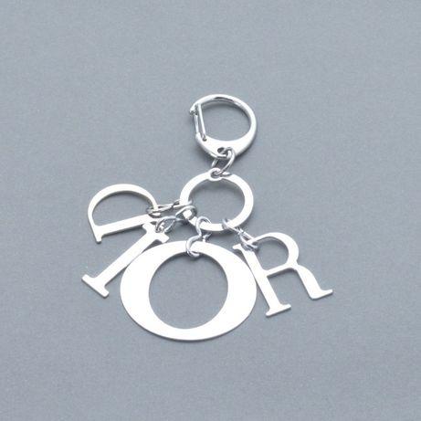 Брелок «Dior» серебро