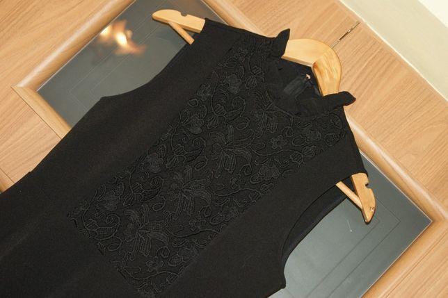 ZARA 38 M słiczna sukienka czarna