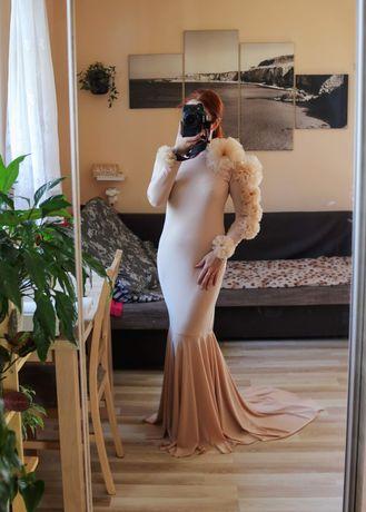 Suknia do sesji ciążowej