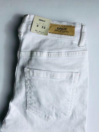 """Białe spodnie dżinsy Only rozmiar S""""32"""""""