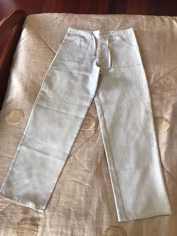 Calças de pano N- 40