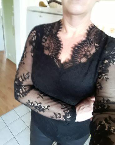 Nowa piękna koronkowa bluzeczka MORGAN xl