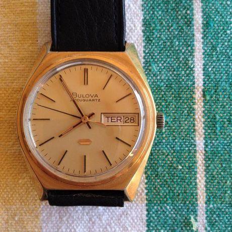 Relógio Pulso Bulova Accuaquartz - OPORTUNIDADE