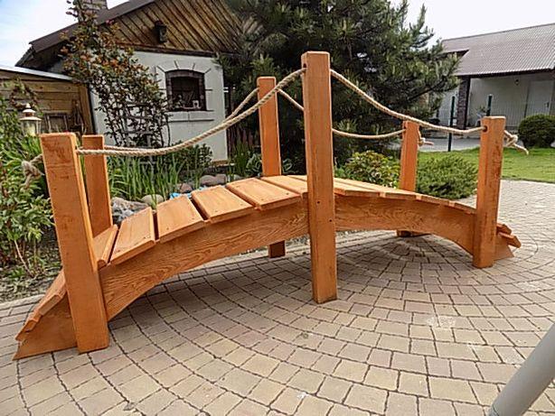 kładka, mostek ogrodowy, wysyłka GRATIS