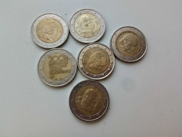 Moeda comemorativa 2 euros