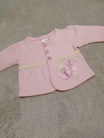 Rozpinana bluza dla dziewczynki