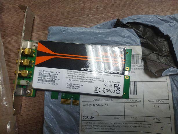 Беспроводной сетевой адаптер  ( сетевая карта ) D-Link DWA-556