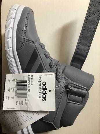Детские кроссовки кеды ботинки adidas