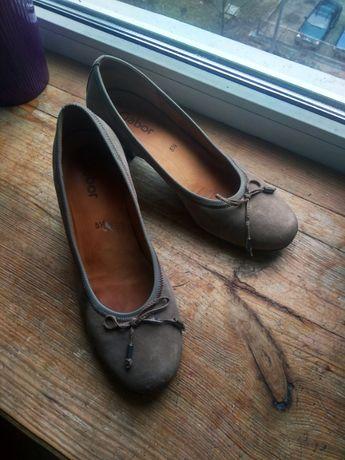 Туфли нубук Gabor 5.5 (38.5)