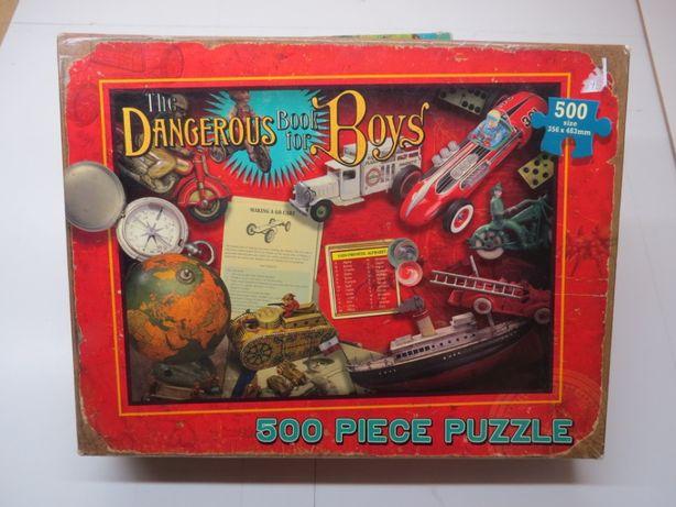 """Puzzle 500 """"Dangerous Book for Boys"""""""