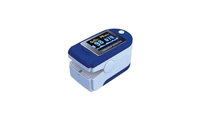 Oxímetro de dedo Pulso e Oxigénio Ecrã LED Novo
