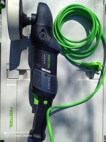 Festool Polerka rotacyjna SHINEX RAP 150-21 FE-Set Wood 574907