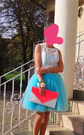 Sukienka tiulowa 36s ksiezniczka