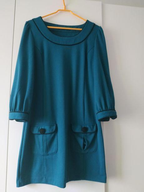 Sukienka butelkowa zieleń M