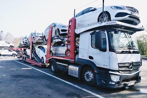 Доставка автовоз з Литви до Украіни