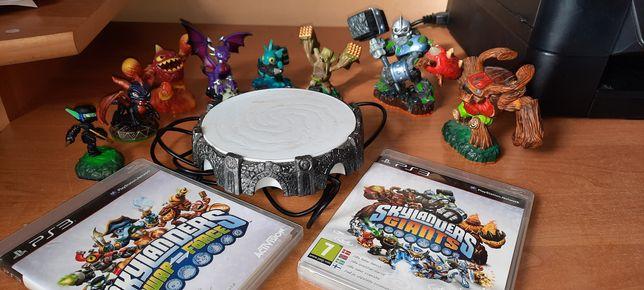 Skylanders ps3 swap force i giants 8 figurek platforma dwie gry