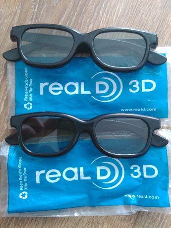 Okulary RealD 3D (para)