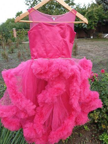 Платье облако  ручная работа
