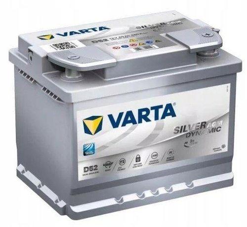 Akumulator Varta Silver Dynamic Agm D52 60Ah/680A