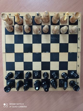 Шахматы деревянные СССР.