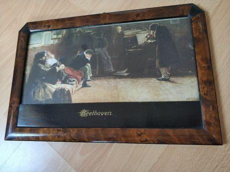 "Niemiecki obrazek ""Beethoven"" Balestreri"