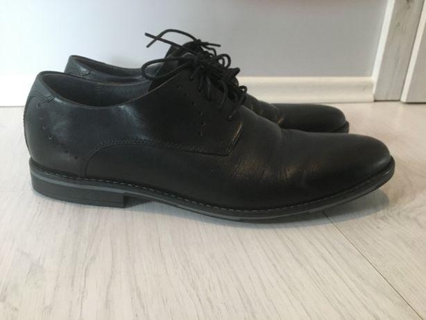 buty męskie garniturowe wizytowe eleganckie czarne lasocki rozmiar 45